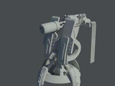 Sentury gun