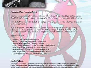 Tommy Von Creative Resume