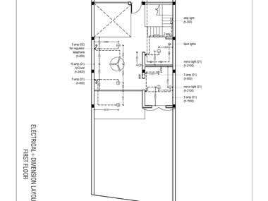 Working Drawing Samples (Electrical & Interior)