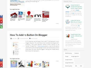 Vidhiweb Solution Blog for this Site.