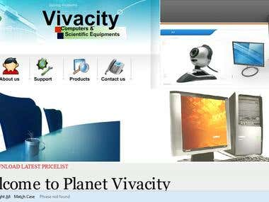 Vivacity computers and equipments