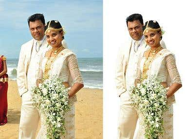Wedding photos editing.