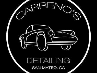 Carreno's Detailing Logo