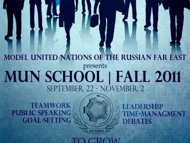 Poster & flyer design for youth workshop