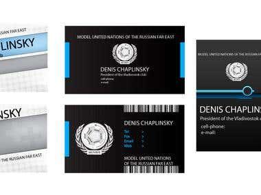 Bussines cards samples