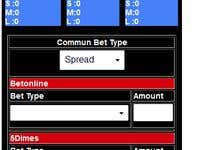 Sportsbetting Script and Light UI