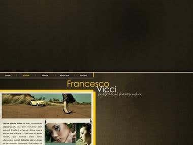 Portfolio Design -Francesco Vicci-