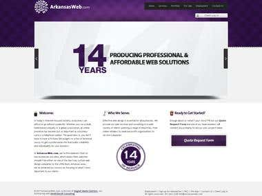 Website Design - Arkansas Web -