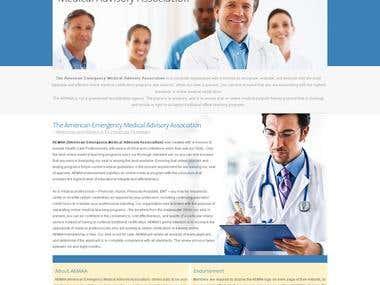 Website Design - AEMAA -