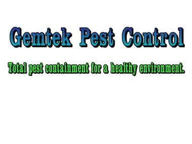 SLOGAN CREATION FOR GEMTEK PEST CONTROL