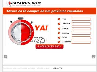 Comparador de zapatillas running