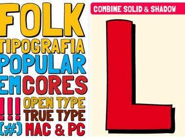 Folk Typeface