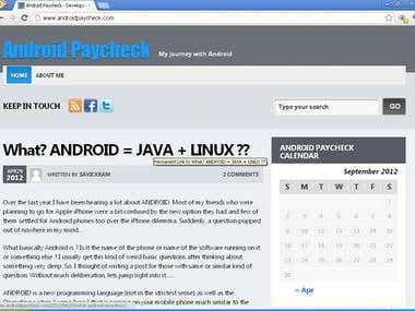 Android and Java Developer