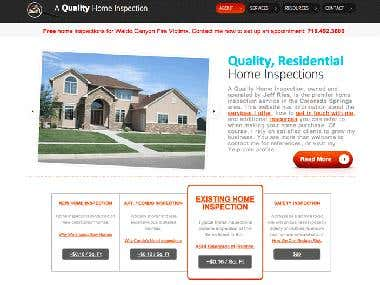 Web Design and Development: A Quality Home Inspection