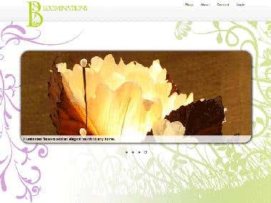 Web Design and Development: Bloominations