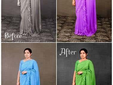 Photo Restoration- Black & whte to color