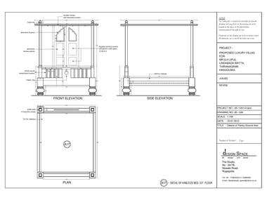Furniture Working Drawings