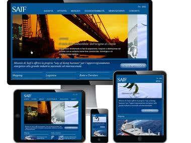 Responsive website n°2