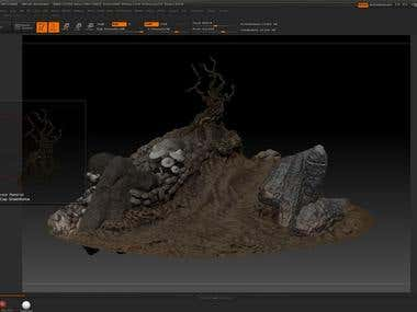 Game models environment Pack x5