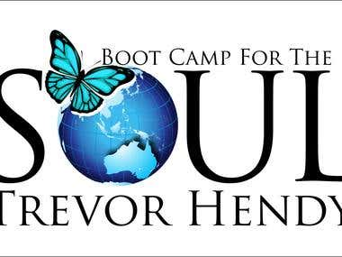 "Logo for, "" Boot camp For the Soul"""