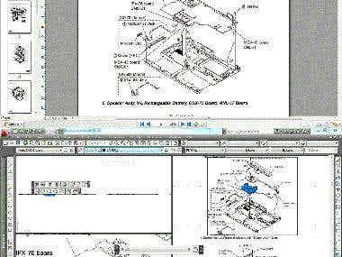 PDF to autocad, excel and word convertion with full accuracy