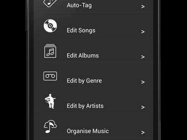 Android App - Music Tagger