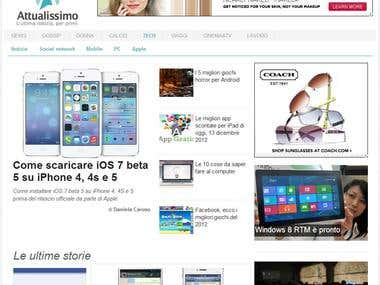 Attualissimo.it - Magazine website