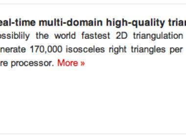 Real-time multi-domain high-quality triangulation (Q=0.83)