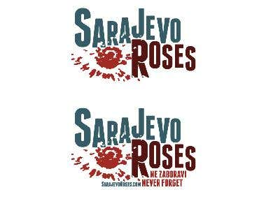 Sarajevo Roses Logo Design