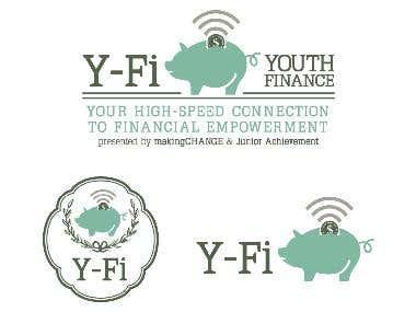 Y-Fi (Youth Finance) Logo Design