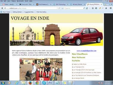 Tour and travel portal
