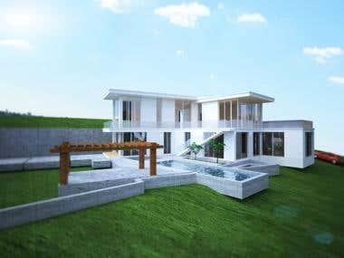 Villa in the moutain