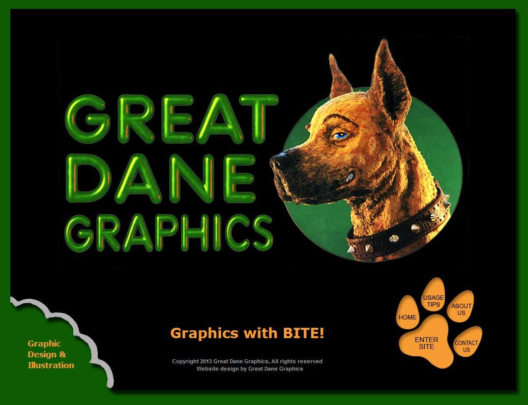 Great Dane Graphics Website