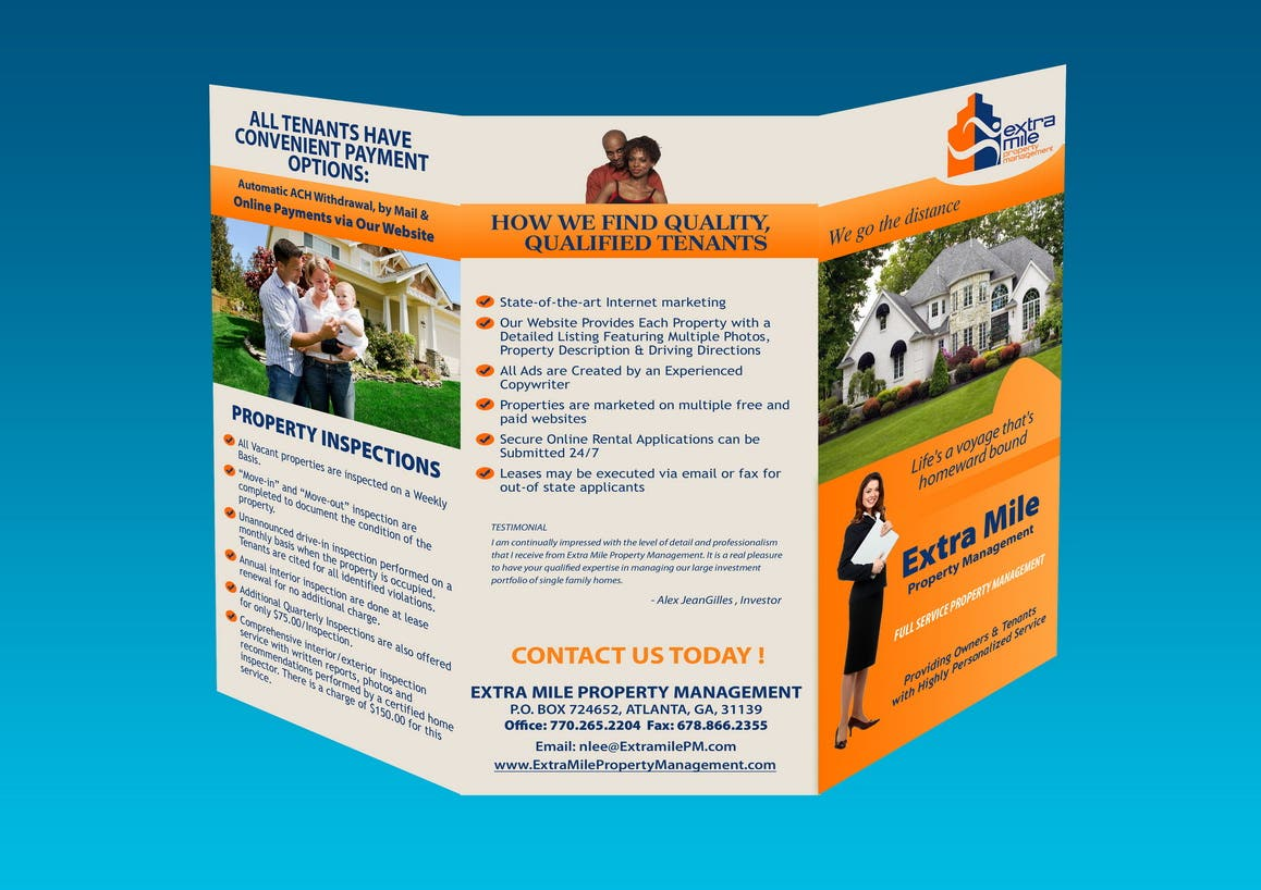 Bi-fold and Trifold Brochures