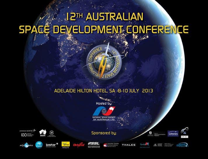 Background slide for conference