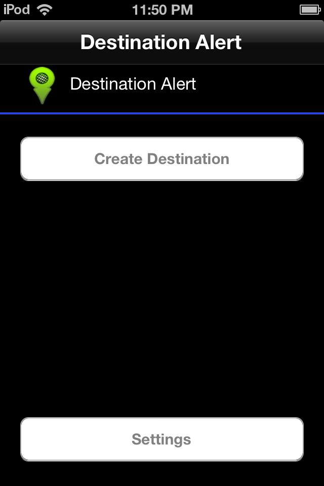 Destination Alert
