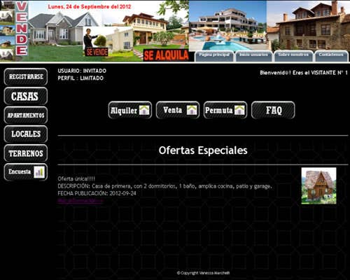 Real Estate - Online - Inmobiliaria online