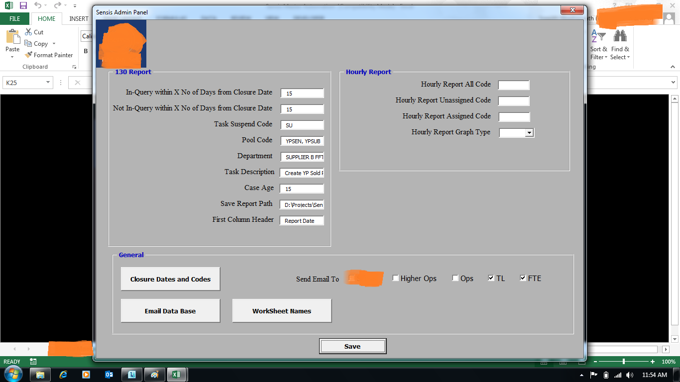 Admin Panel for Dashboard