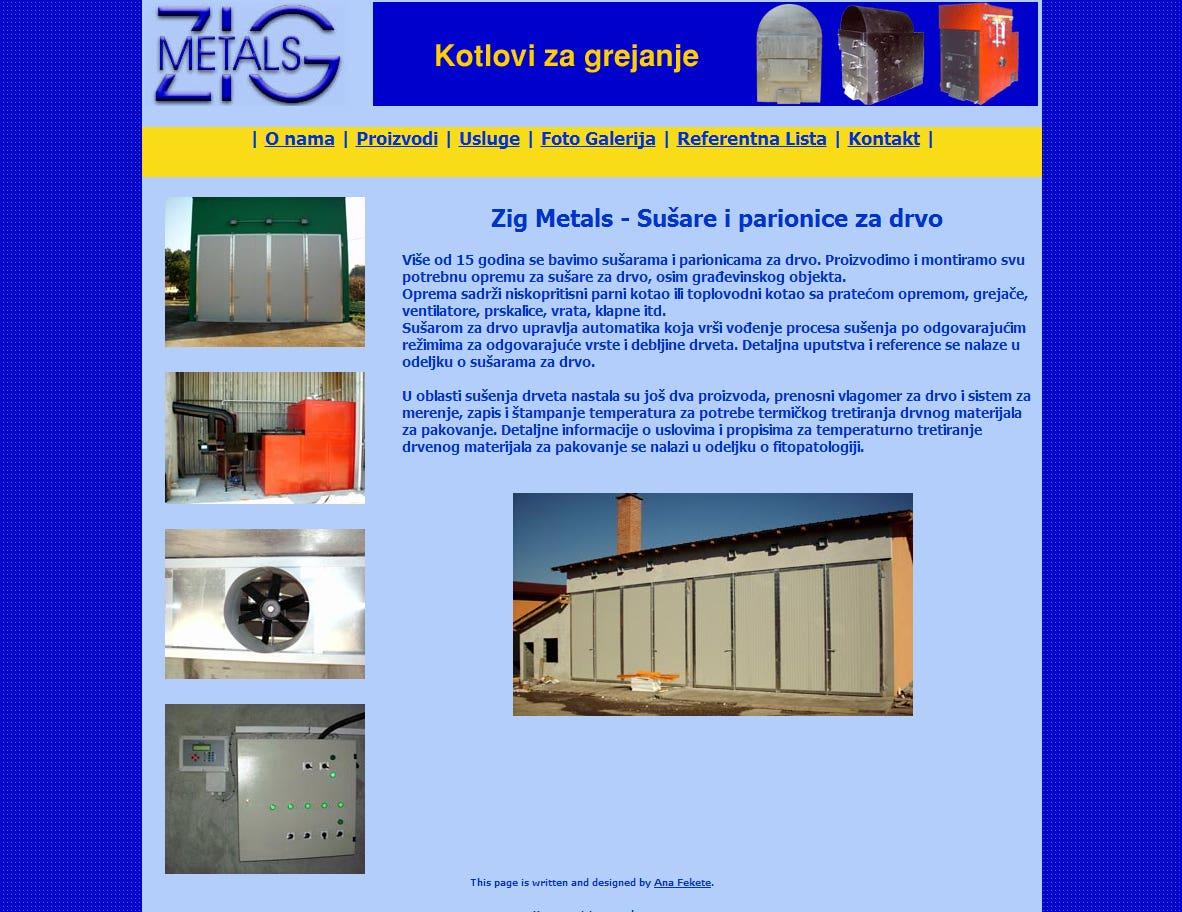 Website Zig Metals