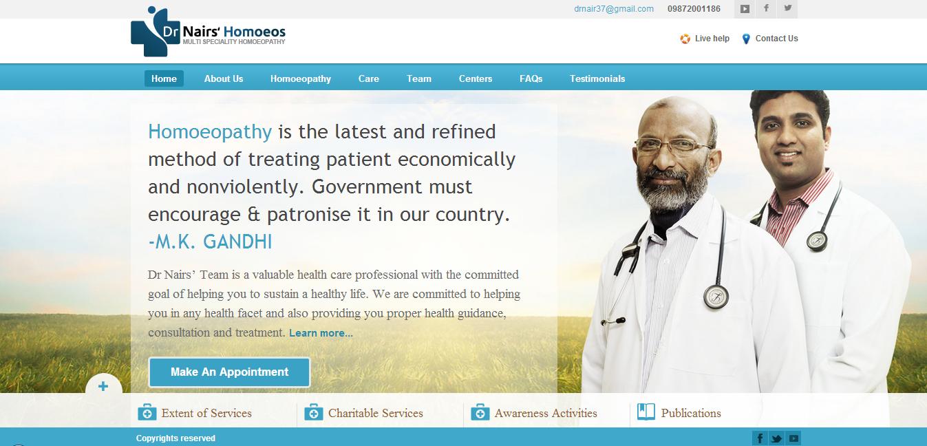 Dr Nair's.com