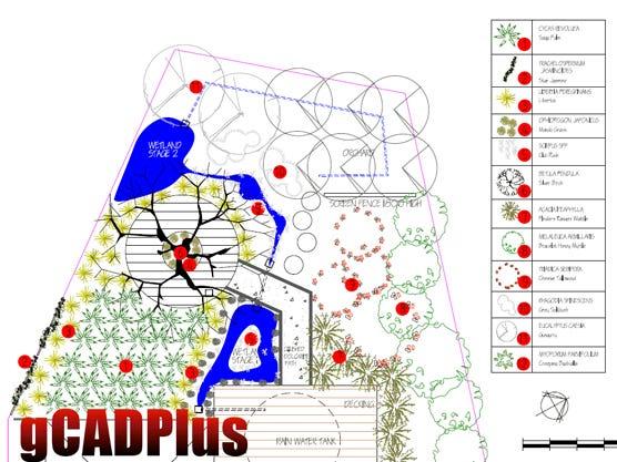 Landscape Design 2D CAD
