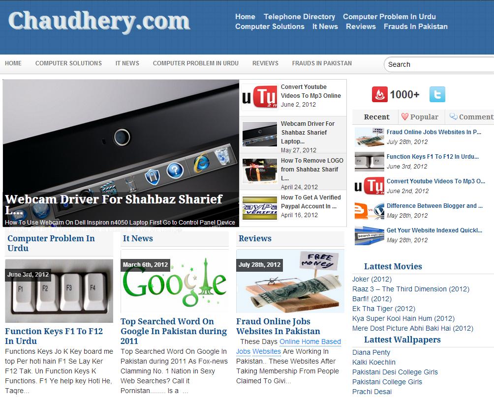 Chaudhery.com