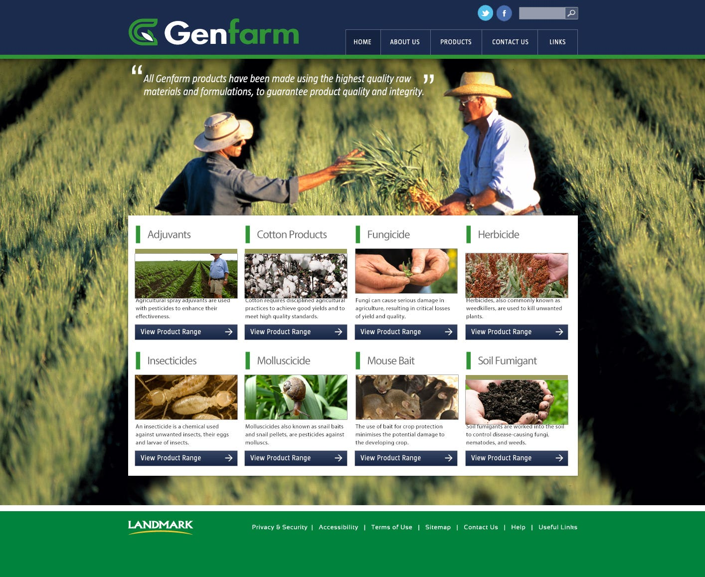 Genfarm Website