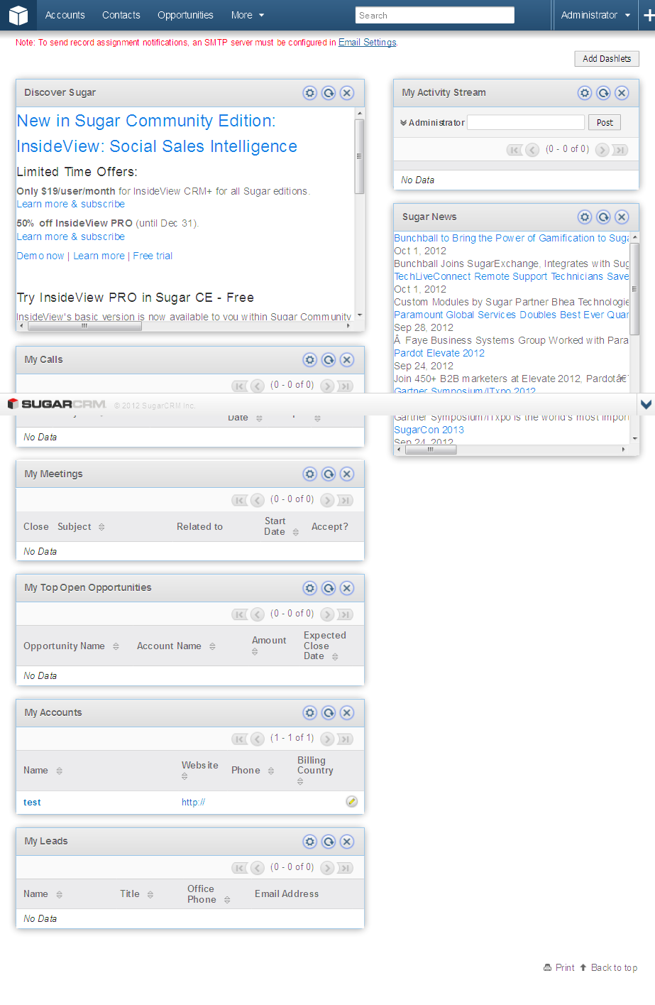 Sugarcrm -Customization and integration
