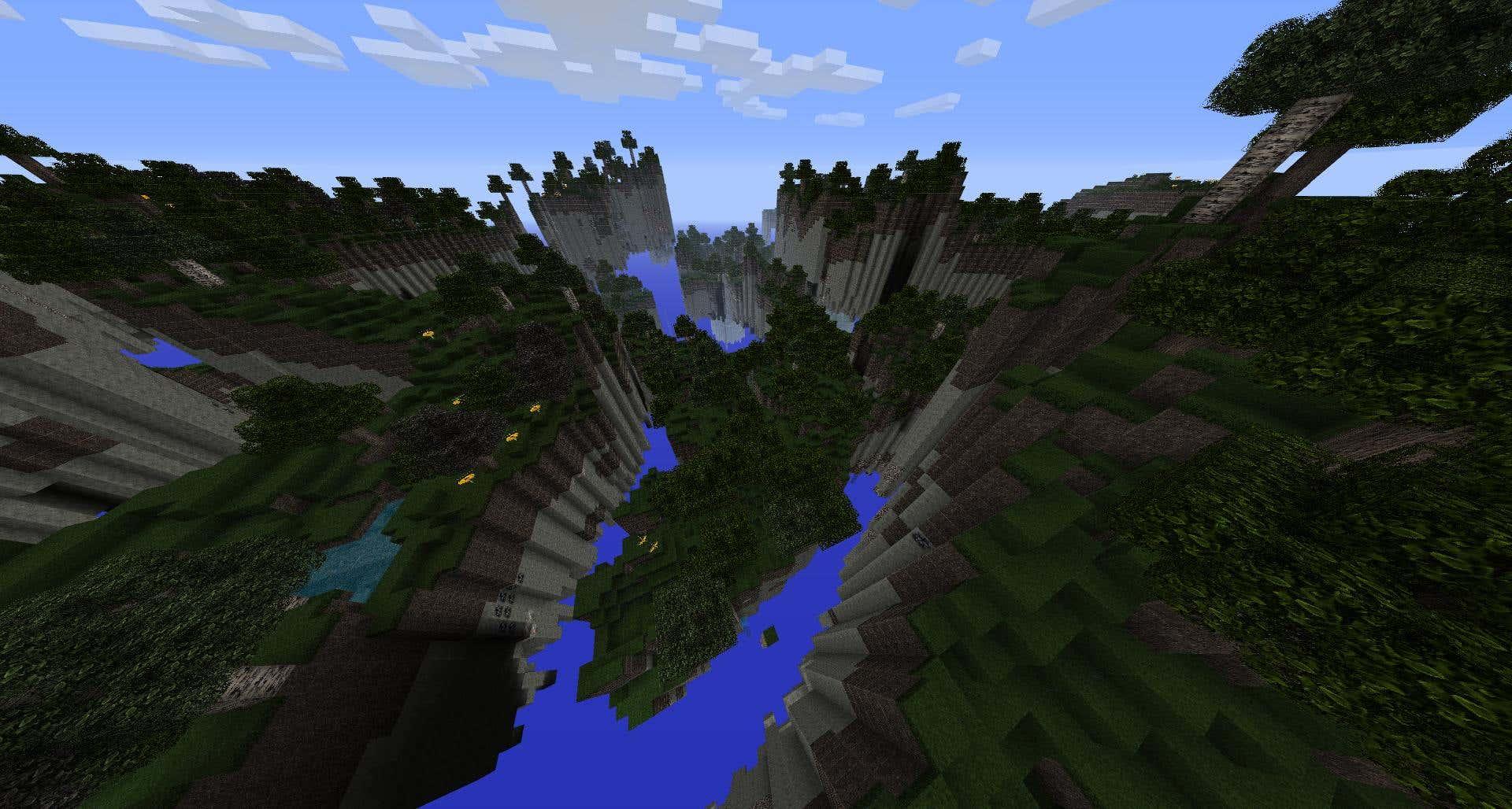 Minecraft Floating Islands Plugin
