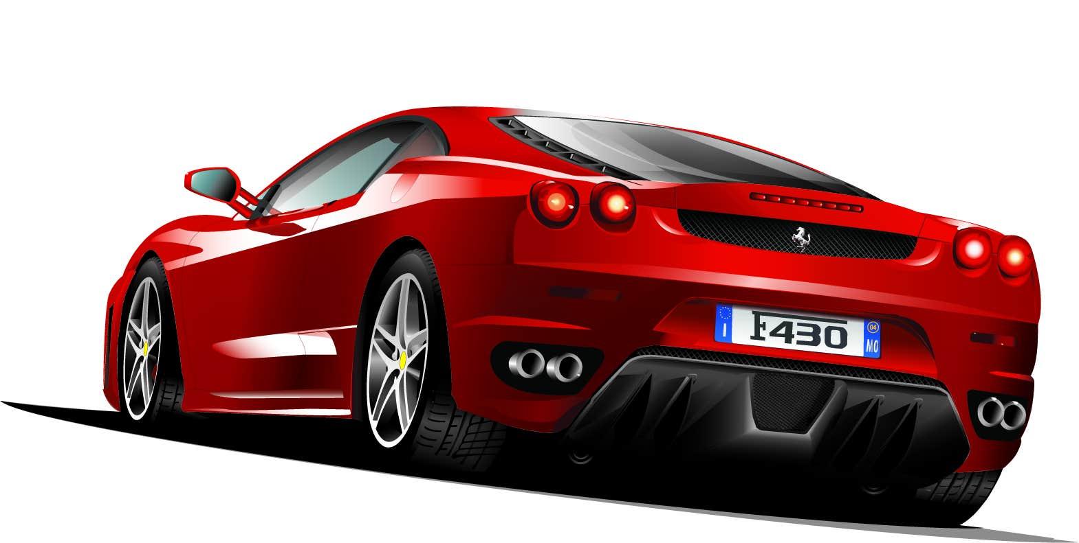 Car Design by Syed Muhammad in Adobe Illustrator CS3