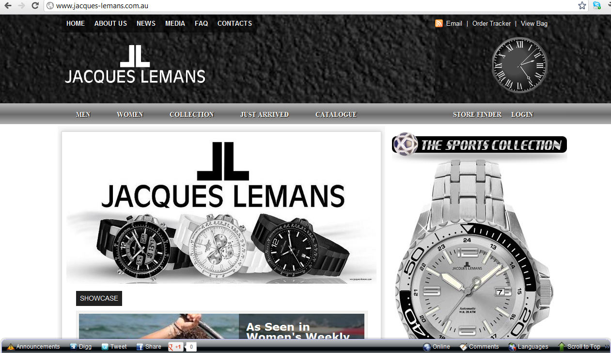 Jacques Lemans Watches Web Store