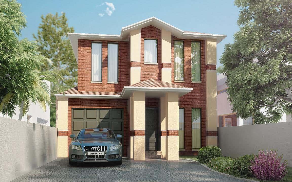 3D Modelling of House Facade/externals