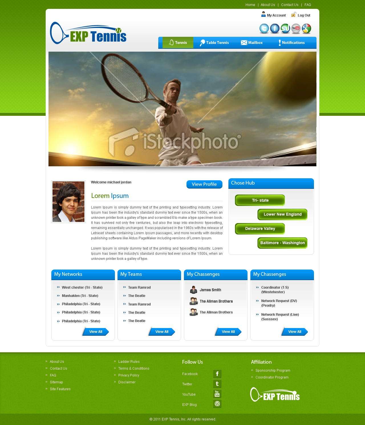 EXP Tennis
