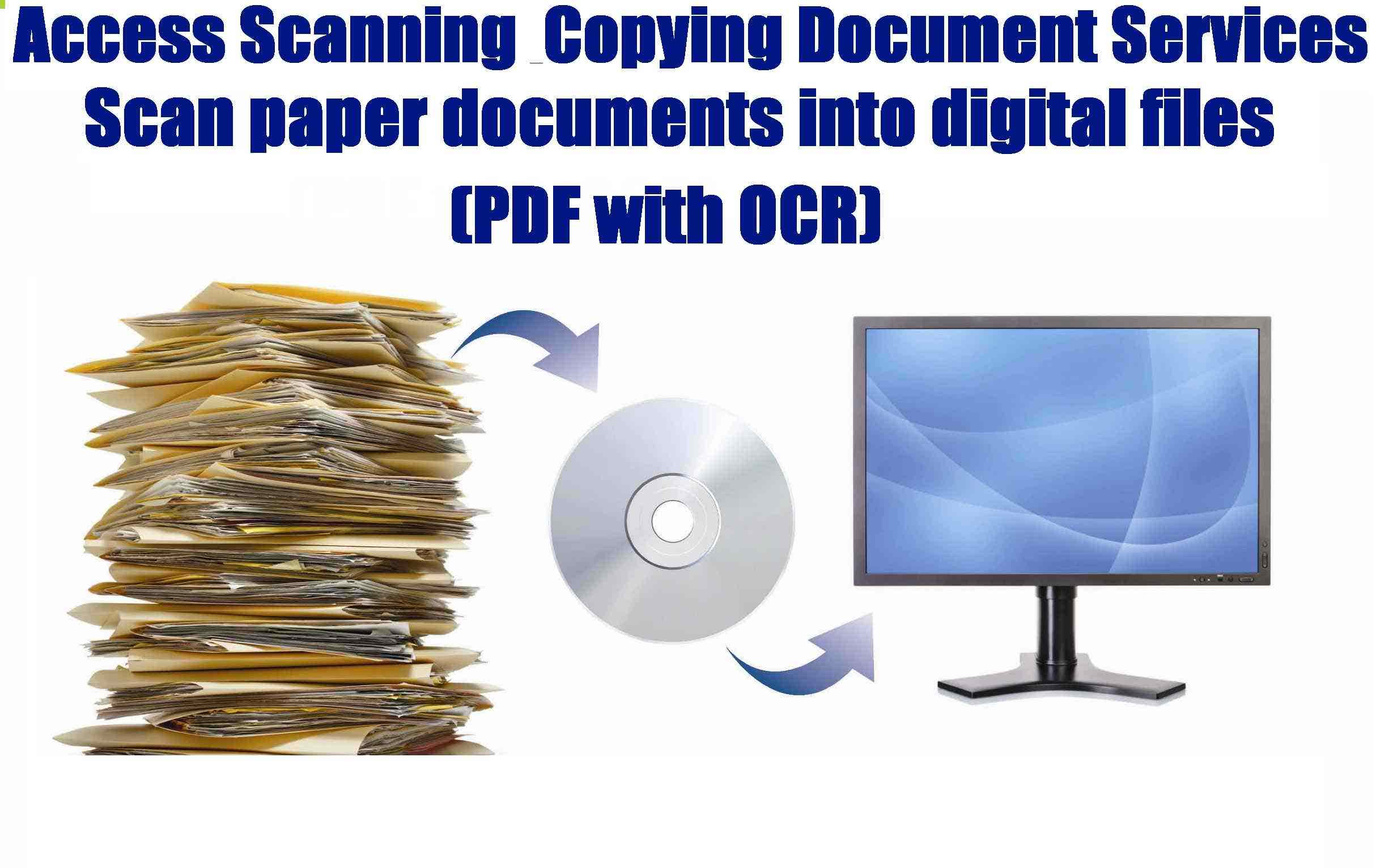 Scanning Document Services